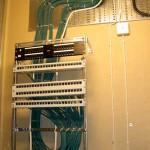 Nätverksinstallation och ny elcentral.